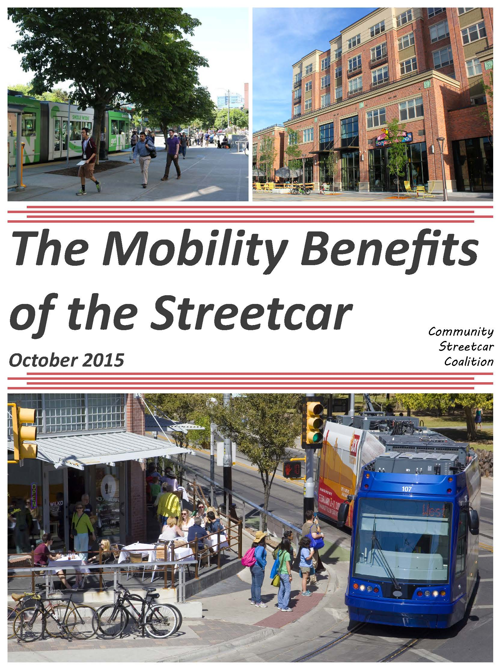 The Mobility Benefits of Streetcar